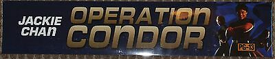 Operation Condor, Large (5X25) Movie Theater Mylar Banner/Poster