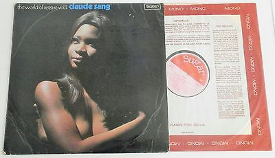 Claude Sang - The World Of Reggae Vol.1. Rare 1970 UK Sugar LP EX+