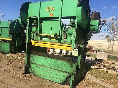 Chicago D&k Mechanical Press Brake 90/135 Ton, Model 406-D