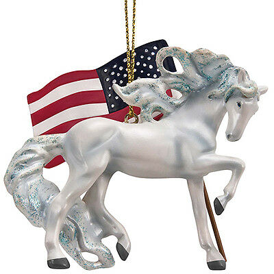 Enesco Trail Of Painted Ponies 2017 UNCONQUERED ORNAMENT 4058161 NEW