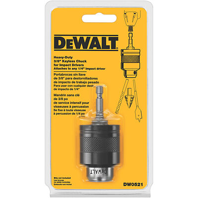 "Dewalt DW0521 Quick Connect 3/8"" Imp Chuck"