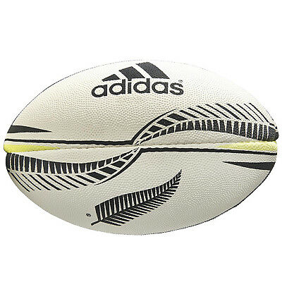 adidas Performance NZRU New Zealand All Blacks Rugby Ball - Size 5 (B Grade)