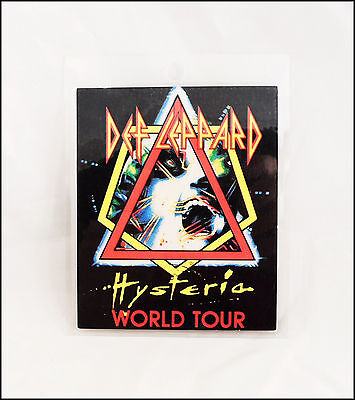 Def Leppard Hysteria World Tour Laminated Backstage Pass Unused