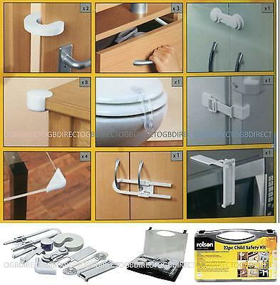 Rolson Childproof Safety Guard Corner Edges Children Protector Protection Kit