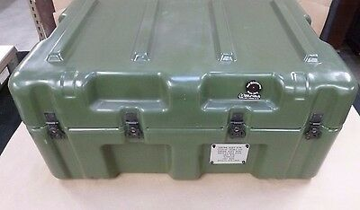 "Hardigg 31"" X 21"" X 14""  Military Issue Pelican Case - Olive Drab - W/ Foam"