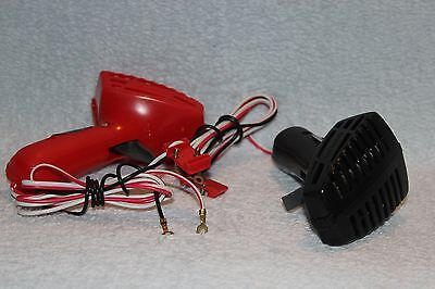 Scalextric C265 Hand Controller Pair.  Red and Black pair in used condition.