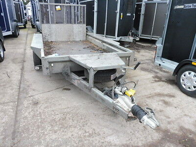 Used Ifor Williams GX105HD Plant Trailer with Ramp 10' x 5' 3500kg