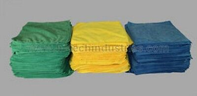 Hi-Tech Industries HT-20-100G Bulk 100 Pack Green Shop Towels