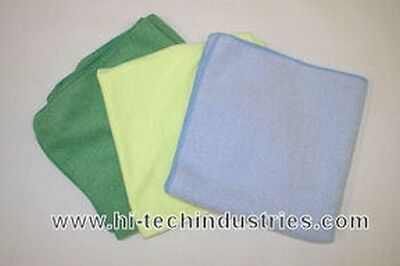 Hi-Tech Industries HT-20A 16 X 16 Plush Blue Microfiber Towel