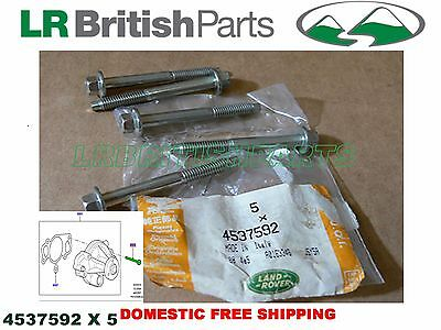 Land Rover Water Pump Bolt Set Lr3 Range Sport 05-09 Range Rover 06-09 4537592
