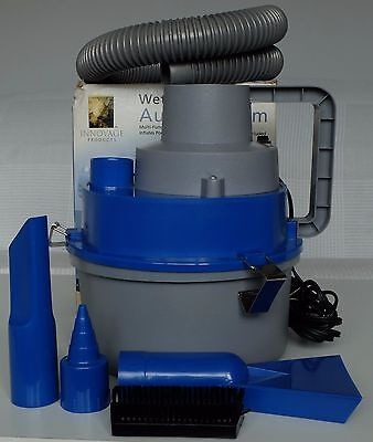 12v Portable Wet & Dry Auto Vacuum Cleaner AND Air Pump - NO BAG NEEDED