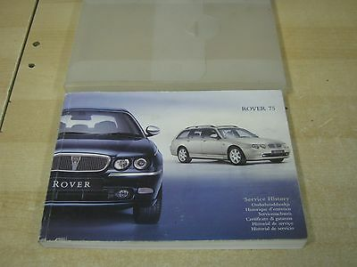 Rover 75  Genuine Owners Manual Handbook Pack With Service 2004-2008