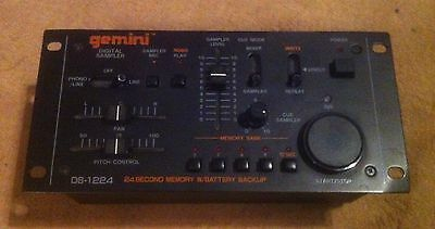 Gemini DS 1224 Sampler