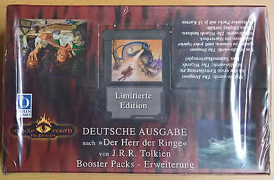 Middle Earth The Dragons - Booster Box - Limitierte Edition (Mint, Sealed)