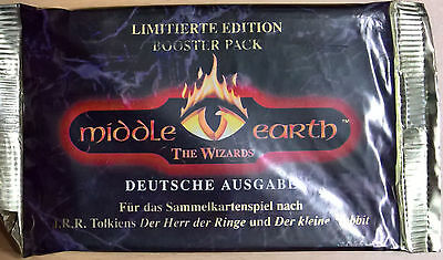 Middle Earth The Wizards - Booster Pack - Limitierte Edition (Mint, Sealed)
