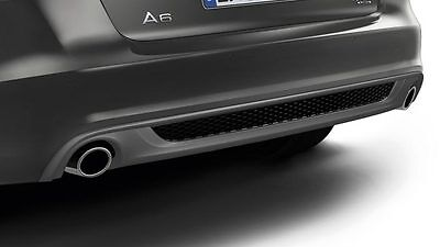 Audi Sport Tailpipe Tail Pipes Chrome A6 C6 4F Saloon and Avant 4f0071761