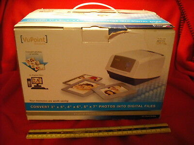 New! VuPoint Solution Digital Photo Converter Digital Scanner