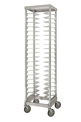 "Single Pizza Rack, 3"" Shelf Spacing, 20 Pan Capacity, 37 lbs. (X)"