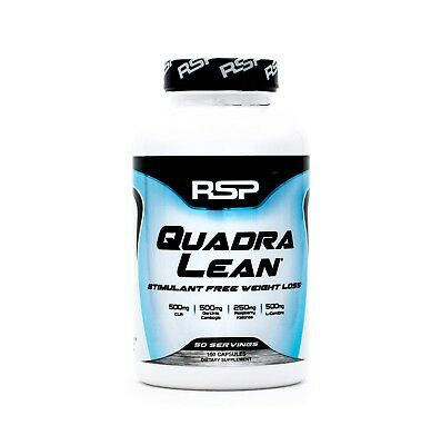 RSP Nutrition QuadraLean Stimulant-Free Weight Loss Supplement (150 Capsules)