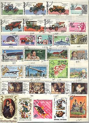 Togo - 59 stamps - Years 1964 to 1982...C.V. $18.65