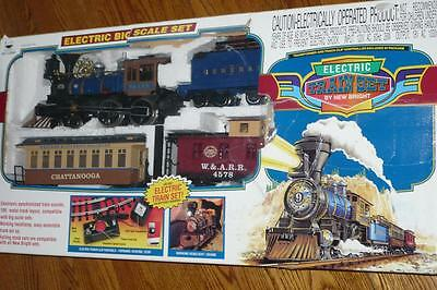 Vintage Railking By New Bright Electric Train Set 1997 G Scale 110 Volt No. 376