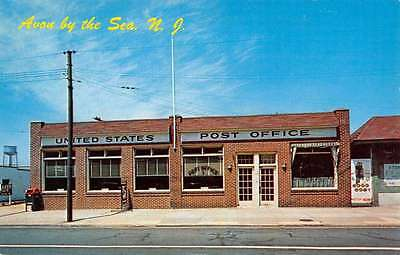 Avon by the sea new jersey sylvan hotel street view antique postcard avon by the sea new jersey post office street view vintage postcard k52891 sciox Images