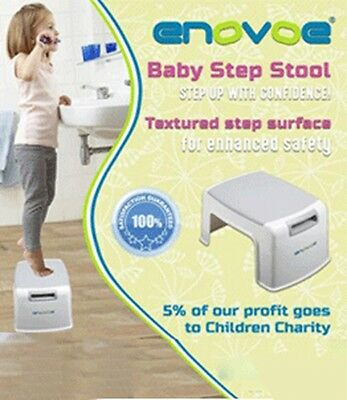 NEW Enovoe Child Step Stool | Taller Stool helps kids reach farther | Portable