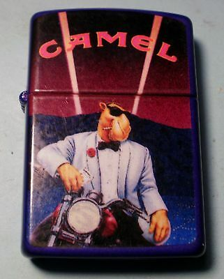 Zippo Joe Camel White Tux Collectable Lighter Oct 1992 On Harley