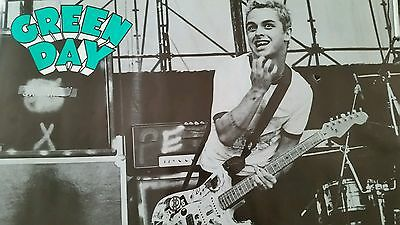 "POSTER: Green Day ""lollapalooza 94"""