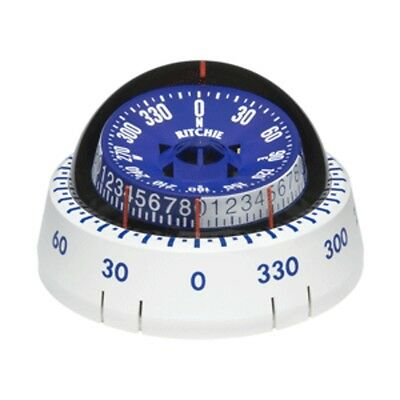 Ritchie XP-98W X-Port Tactician  153  Compass - Surface Mount - White