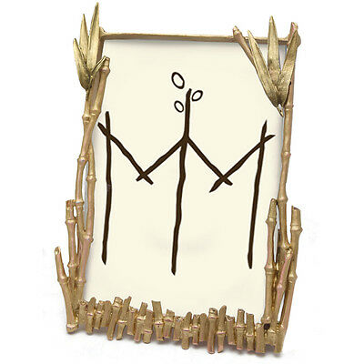NEW! Bamboo Frame by Michael Michaud - Silver Seasons Table Art #FR9089AB