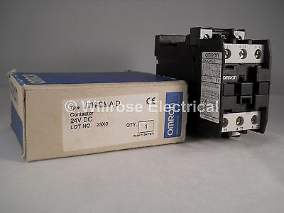 Omron Contactor 24V DC 35A 3 Pole 35 Amp J7K-CMA-D NEW