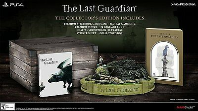 The Last Guardian - Collector's Edition [PlayStation 4 PS4, Limited Edition]