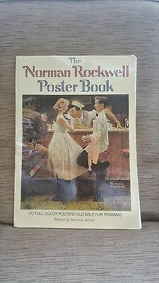 Vintage 1976 The Norman Rockwell Poster Book