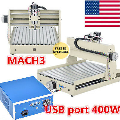 3 Axis 3040 CNC Router Engraving Drilling Engraver Milling Machine USB PORT 2017