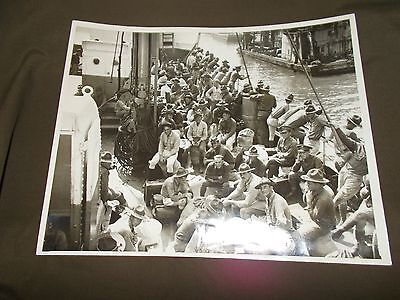 Press Photograph UNITED STATES MARINES HOME AFTER 3 YEARS IN PANAMA AUG. 3 1930