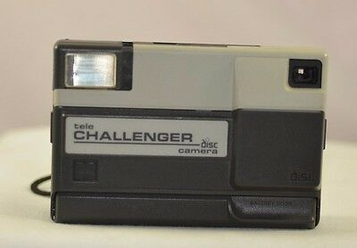 Kodak Tele Challenger Disc Point And Shoot Film Camera Fast-Free Shipping
