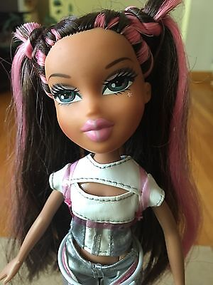 Bratz Doll 2001 Yasmin Live In Concert Silver Clothes/boots&brown/pink Long Hair