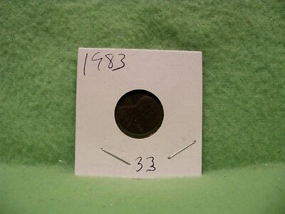 * Us 1983 Lincoln Memorial One Cent Penny