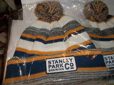 Stanley Park Brewing Company Warm And New Winter Hat Pom Pom Vancouver Beer
