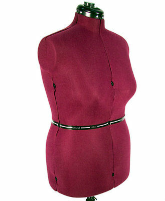 Large Dress Form Adjustable Sewing Mannequin Clothing Making Torso Dummy Fashion