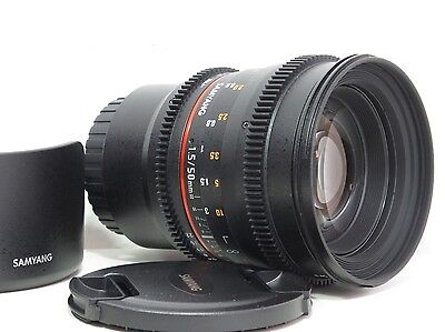 Samyang 50 mm / 1,5 T AS UMC für micro four thirds / mft