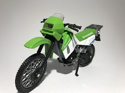 KAWASAKI KLR650  MOTORBIKE scale 1:18 diecast model toy bike car
