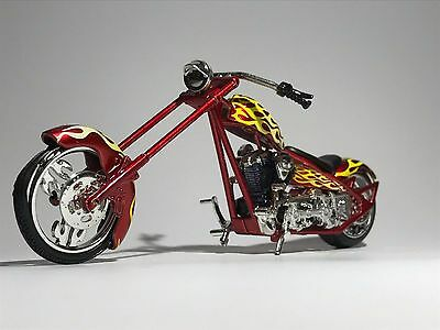 CHOPPER MOTORBIKE scale 1:18 diecast model toy bike car