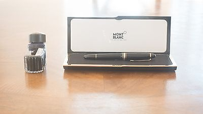 MONTBLANC MEISTERSTUCK No 149 Fountain Pen with 14k solid gold NIB and box