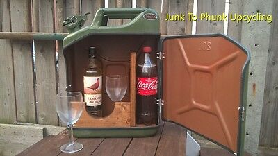 Upcycled 20 Litre Jerry Can Mini Bar Party Vw Camping Man Cave Festival Gift Set