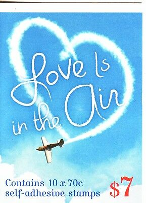 AUSTRALIA 2015 VALENTINE DAY - Love is in the Air $7 Booklet -  MNH