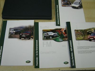 Land Rover Freelander  Handbook  Owners Manual 2000-2004 Inc Service Book Etc