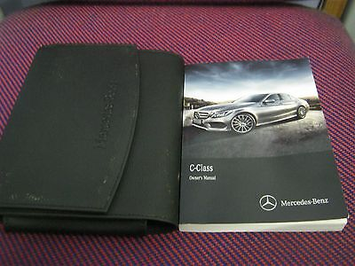 Mercedes C Class  Owners Manual Handbook Pack  2011-2015