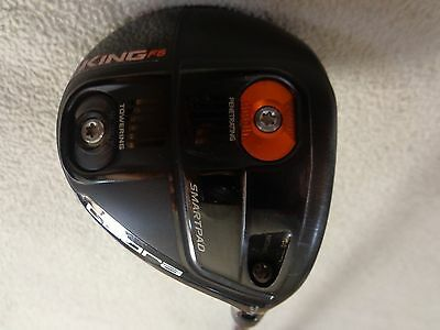Cobra King F6 Black 3-4 Wood w/ProLaunch Axis 60g Stiff Graphite Shaft